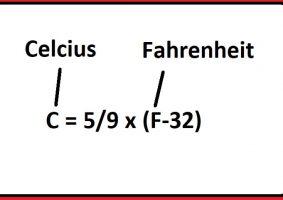 Fahrenheit'ı Celcius'a Çevirme (Formül ile Dönüşüm)