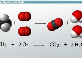 Kimyasal Reaksiyon Nedir